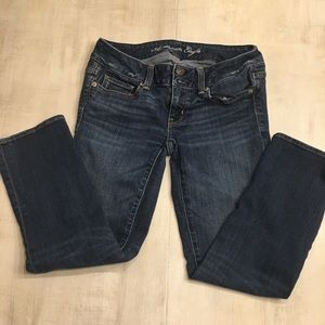 American Eagle stretch artist jeans size 2